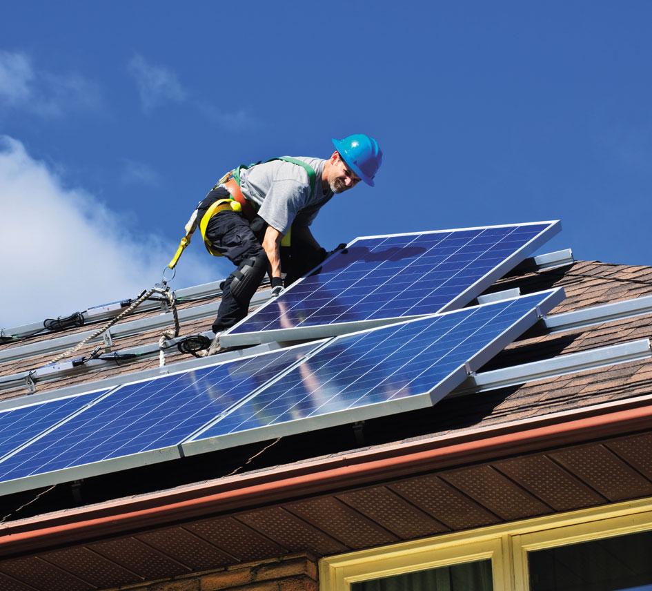 Réparation photovoltaïque
